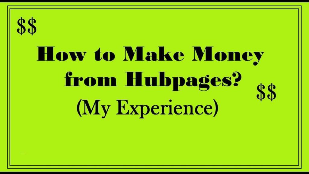 How to Make Money With HubPages